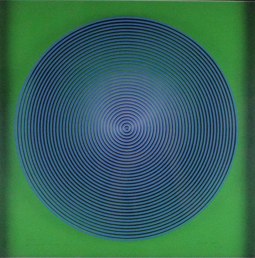 Alberto BIASI - Grabado - Dinamica visiva S2