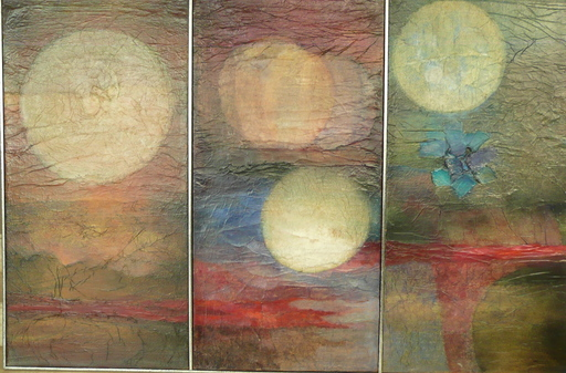 Angel HURTADO - Gemälde - Mars Mercure et Venus