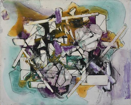 Alexandre ISTRATI - 绘画 - Composition Geometrique