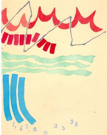 Giorgio GRIFFA - Peinture - LA DIVINA PROPORZIONE N. 398