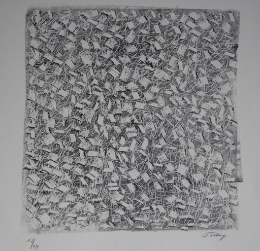 Mark TOBEY - Estampe-Multiple - LITHOGRAPHIE SIGNÉE AU CRAYON NUM/44 HANDSIGNED LITHOGRAPH