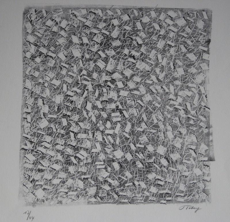 Mark TOBEY - Print-Multiple - LITHOGRAPHIE SIGNÉE AU CRAYON NUM/44 HANDSIGNED LITHOGRAPH