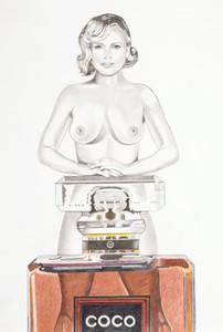 Mel RAMOS - Grabado - Coco Cookie (Chanel)