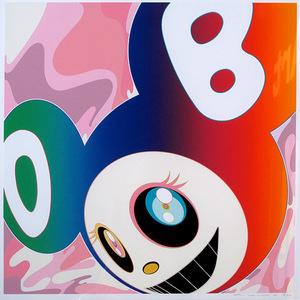 Takashi MURAKAMI,  And then Rainbow