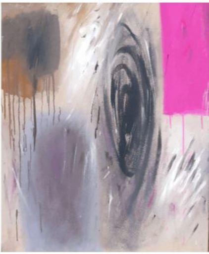 Ennio FINZI - Gemälde - Maggio un giorno di Sole: Figure cromatiche