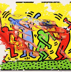 Adria PINA - Pintura - Mans -  Mimesi 24
