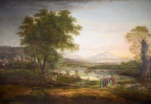 Claude LE LORRAIN - Peinture - Apullia in search of appullus vide ovid