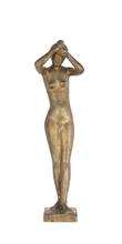 Gerhard MARCKS - Skulptur Volumen - Zopflechterin