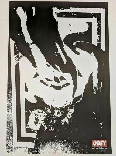 谢帕德·费瑞 - 版画 - Obey (Ripped)