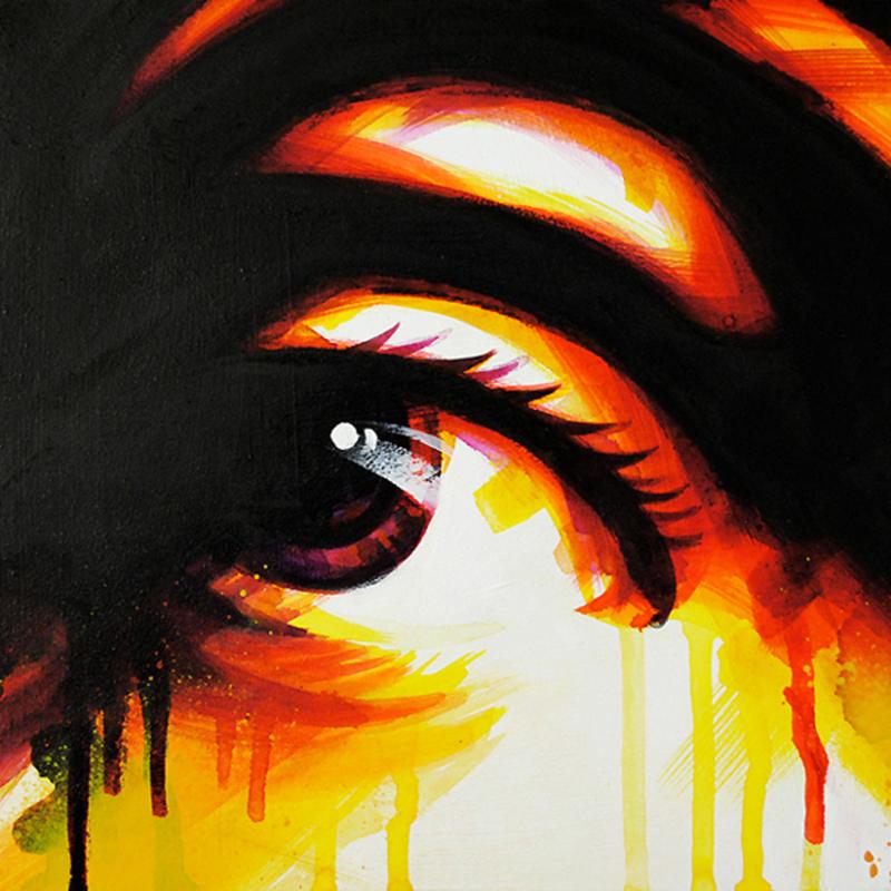 DAN 23 - Painting - I Love You (for sentimental reasons)