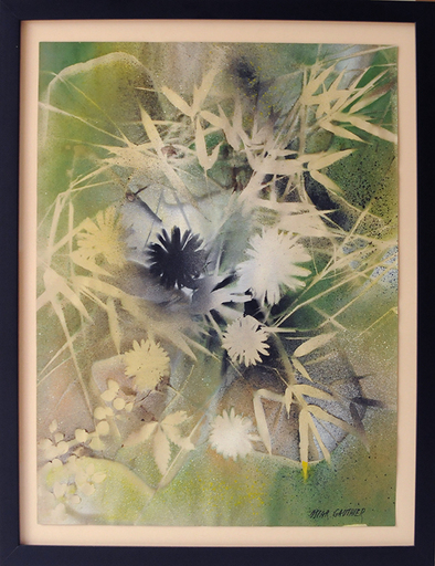Oscar GAUTHIER - Peinture - Fleurs