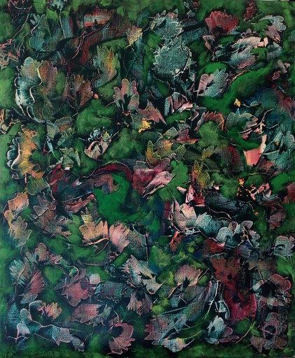 Theodora BERNARDINI - Painting - JUNGLE VERTE