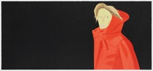 Alex KATZ - Estampe-Multiple - Nicole - Woodcut