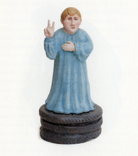 Gian Marco MONTESANO - Escultura - Farinello, nel ruolo del beato Domenico Savio