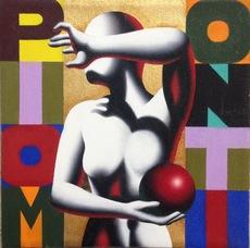 Mark KOSTABI - Painting - The alchemy of love