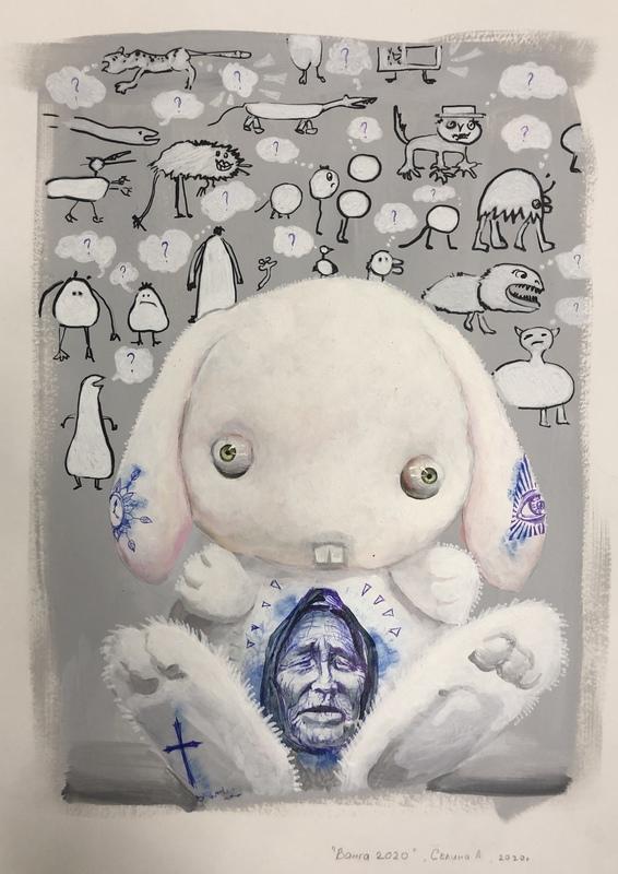 Anna SELINA - Painting - Vanga 2020