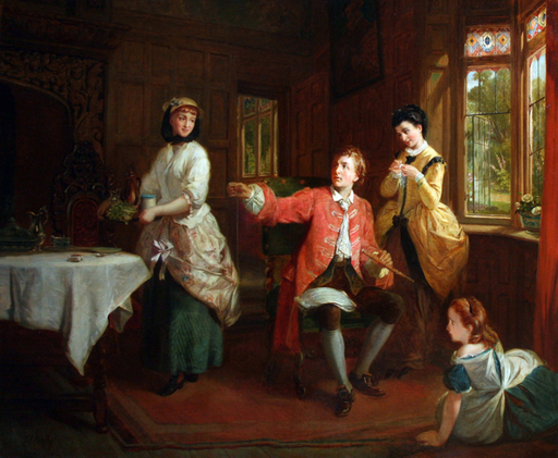 Thomas Frank HEAPHY - Pintura - The Music Lesson