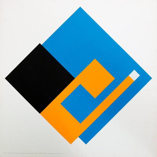 Bruno MUNARI - Estampe-Multiple - Negativo Positivo