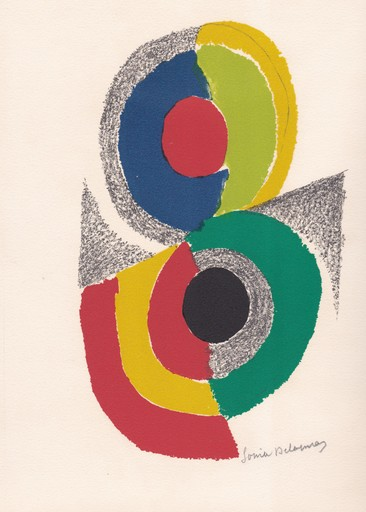 Sonia DELAUNAY - Print-Multiple - Rythmes et couleurs