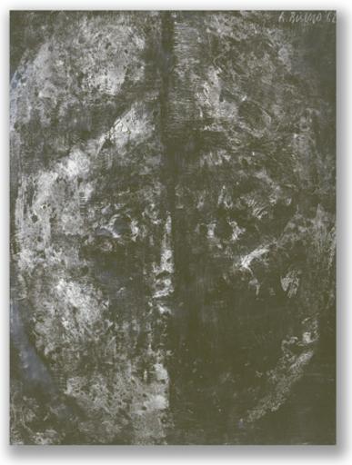 Antonio BUENO - Pittura - Impronta Immagine Nera