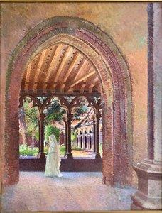 Henri RACHOU - Peinture - Cloitre des Augustins à Toulouse