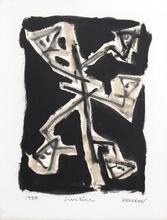 Pierre Marie BRISSON - Pintura - Série Noir