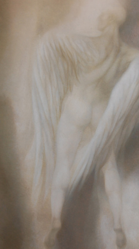 Heather Preston KORTEBEIN - Painting - Figure with wings