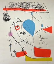 Joan MIRO (1893-1983) - The Pine Tree of Formentor, Plate 2