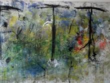 Karel STOOP - Pittura - Cosmic dance