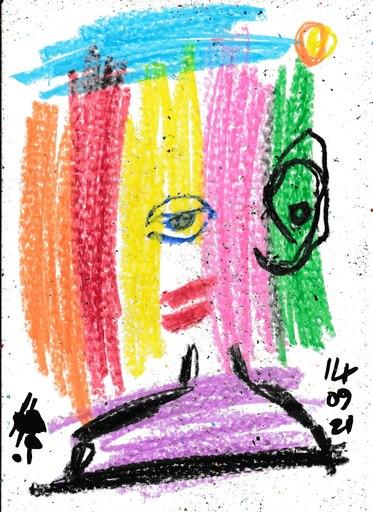 Harry BARTLETT FENNEY - Disegno Acquarello - dora (14 09 21)