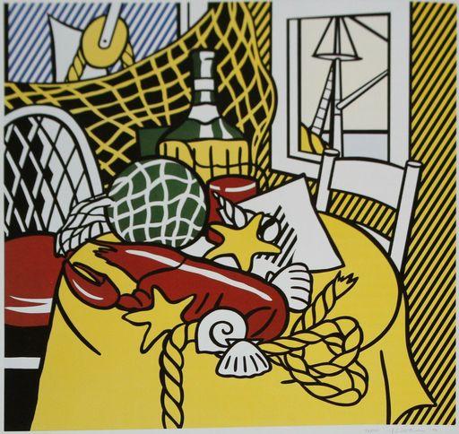 Roy LICHTENSTEIN - Print-Multiple - Still Life with Lobster