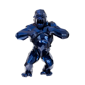 Richard ORLINSKI - Sculpture-Volume - Wild kong mauritius blue 300 cm