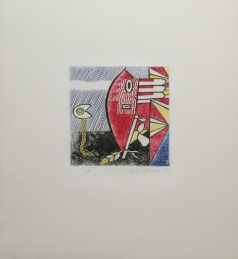 Roy LICHTENSTEIN - Stampa Multiplo - Untitled II