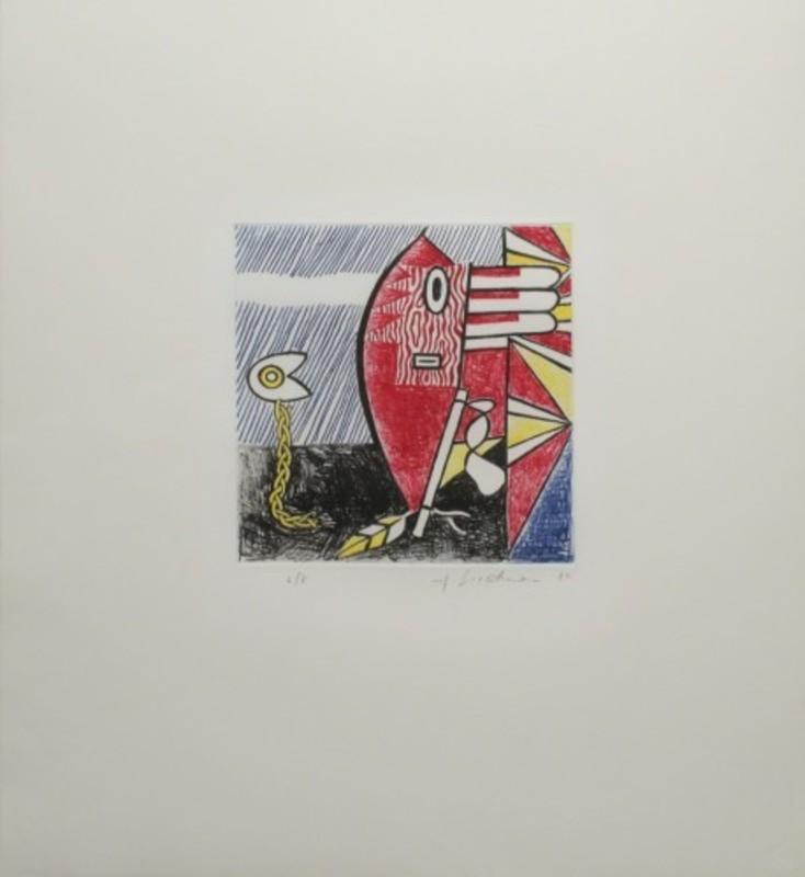 Roy LICHTENSTEIN - Stampa-Multiplo - Untitled II