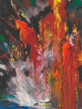 Bernd ZIMMER - Painting - ETNA 1