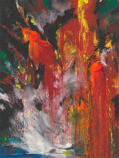 Bernd ZIMMER - Peinture - ETNA 1