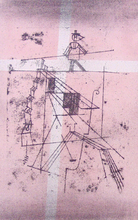 Paul KLEE - Print-Multiple -  Tightrope Walker, from: Contemporary Art | Seiltänzer, from