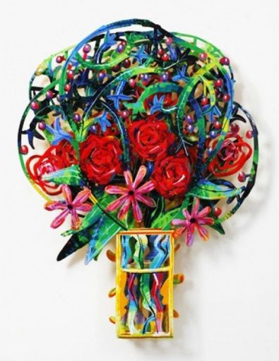 David GERSTEIN - Sculpture-Volume - Bouquet London