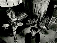 Robert DOISNEAU - Photography - Giacometti dans son atelier