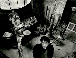 Robert DOISNEAU - Photo - Giacometti dans son atelier
