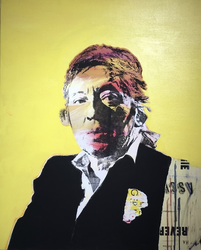 Victor HASCH - Painting - Gainsbourg