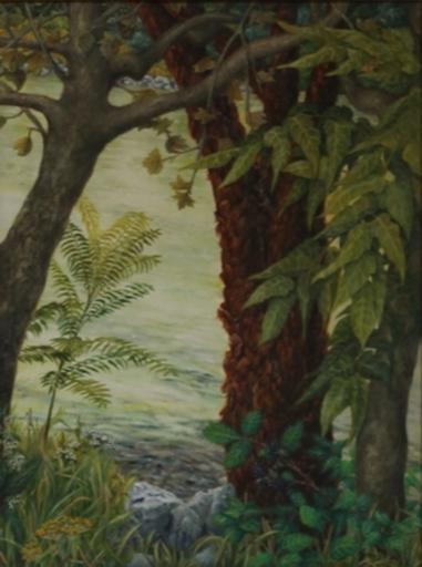 Evamaria KARPFEN - Painting - Spätsommer