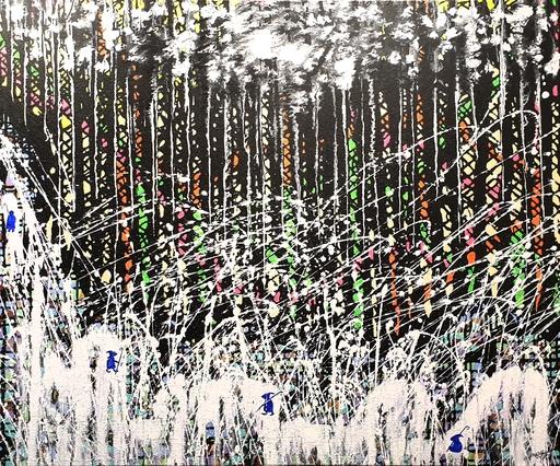 Rafael DE TOURS - Peinture - J'ai traversé la vallée des ténèbres V1-4