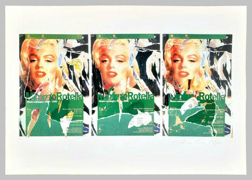 Mimmo ROTELLA - Estampe-Multiple - Omaggio a Marilyn