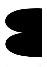 艾尔斯沃茲‧凱利 - 版画 - Black (Series I.1)