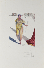 """萨尔瓦多·达利 - 版画 - Arte de Amouroide """"Romer"""""""