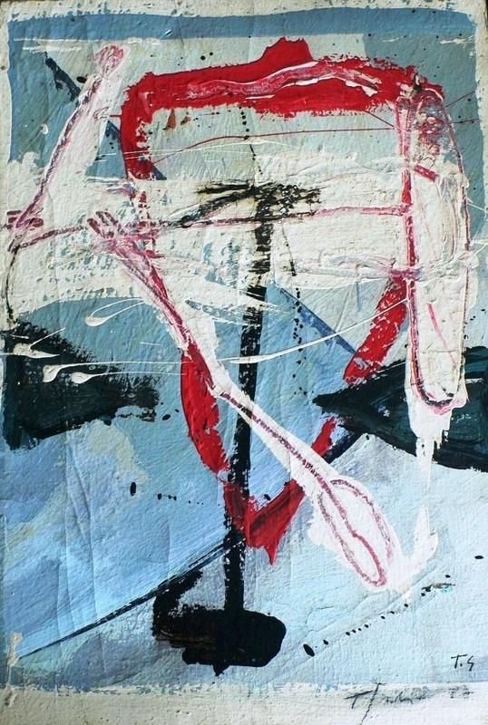 Tony SOULIÉ - Pintura - Abstraction