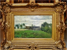 Adam BALTATU - Painting - Paysage