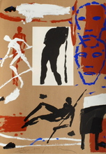 米莫·帕拉迪诺 - 版画 - Composition
