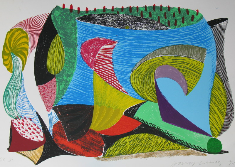 David HOCKNEY - Print-Multiple - Above & Beyond